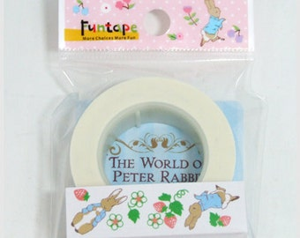 Funtape Masking Tape - Peter Rabbit - Strawberries