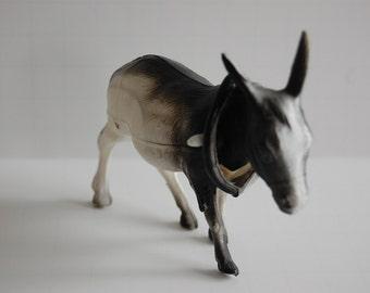 SALE! Celluloid Donkey Nodder / Bobblehead