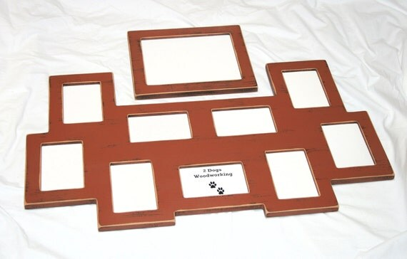 Multi Opening Picture Frame 9 4x6 And 1 8x10 Collage