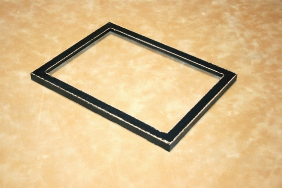 Shabby picture frame 8x8 or 8x10 photo picture frame in for Bungalow style picture frames