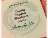 20 Organic Butterfly Pea Heirloom Seeds