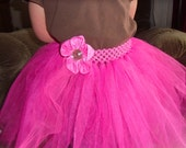 Dress Up Tutu for Girls Sizes 3T-4T in Hot Pink