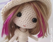 Deniz  Doll Pattern
