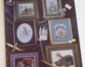 Midieval cross stitch, Land of Enchantment, vintage Fantasy, Pegasus Production, Castle, Fairy, Knight, Maiden, Dragons, Unicorn Patterns