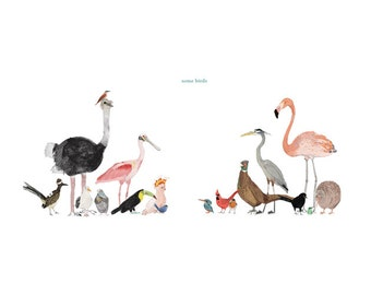 Some Birds Print