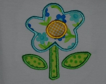 Spring flower onesie, made to order