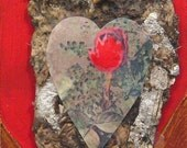 Cave of the Heart, Primal Valentine, valentine, heart, cave, star, red, brown