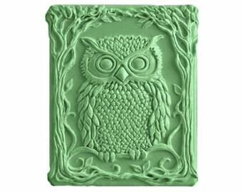 Owl Soap -  Organic  Soaps -  Glycerin Soaps - Natural Soaps - Decorative Soaps  -  Moisturizing  -  Fragrance Oil Cucumber Melon