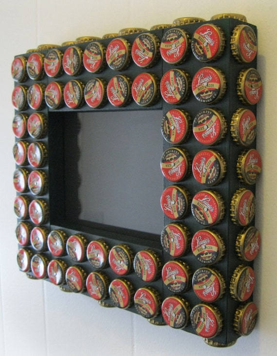 5x7 bottle cap picture frame leinenkugel red lager