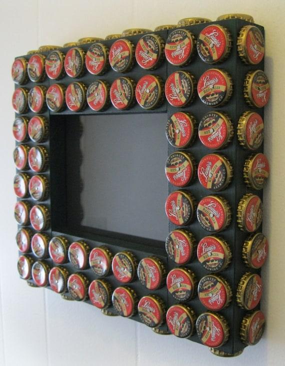 5x7 bottle cap picture frame leinenkugel red lager