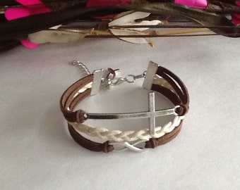 Popular items for cross leather on Etsy
