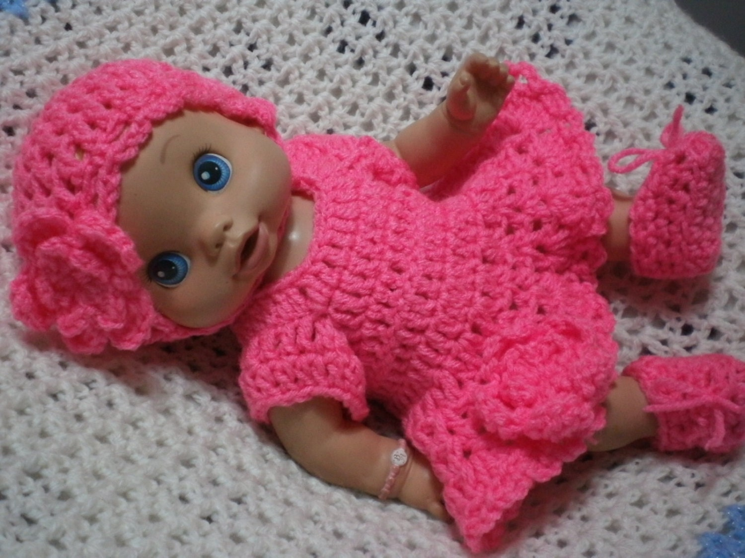 Items similar to Clothes For Baby Alive Wet & Wiggles Doll ...