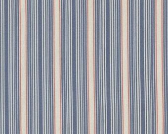 Dear Stella, Cleo Stripes in Blue  - 1 yard listing