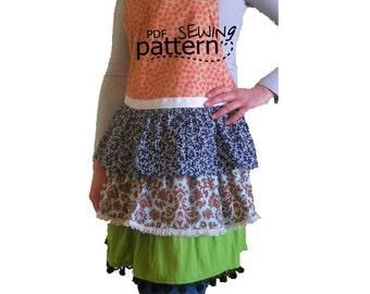 Craft Apple - Seamstress Apron PDF Sewing Pattern
