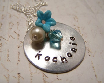 Polish Necklace Kochanie My Darling Friendship Love Soul Mate