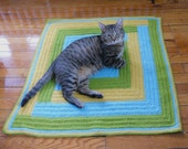 Crochet Pattern PDF - Patchwork Cat Blanket