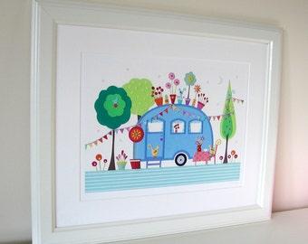 Settle - LARGE Fine Art Print - 10 1/4 inch x 14 inch