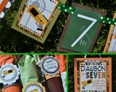 RESERVED for Derica - Lazer Tag Birthday Party Decorations