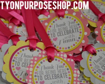 Bachelorette Party Favor Tags Last Fling Before the Ring Fully Assembled Decorations