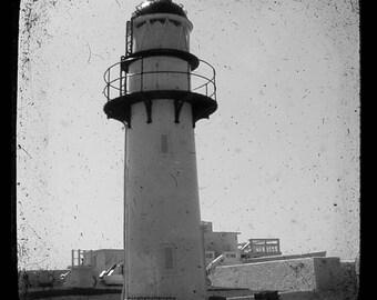 Lighthouse 3 - Lighthouse Light house Beach bum Ocean is calling Valentine You light me up Summer Fine Art Print 8x8
