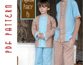 PDF Sewing Pattern: The Pajama Party PJs Big Kid Sizes (Instant Download)