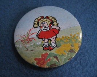 Vintage, 1983, Cabbage Patch Kids, Pin