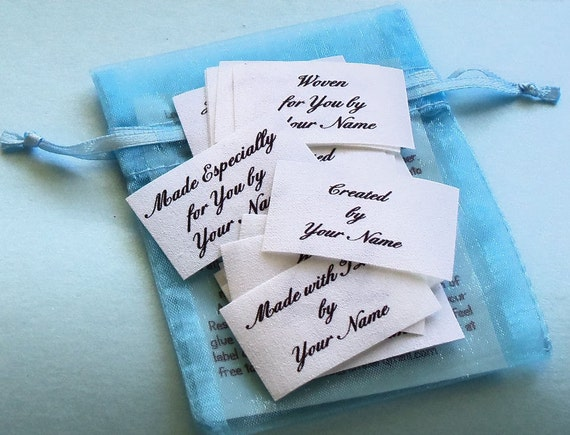 1 1/4 x 1 3/4 Inch Qty. 28 Sew in Cotton Labels