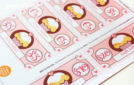Printable Toy Money : Cupcake paper toy money or gift certificate printables