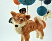 Multi Breed Dog Mobile, Baby Mobile, Dog Mobile, Doberman, Boxer, Pug, Shiba Inu