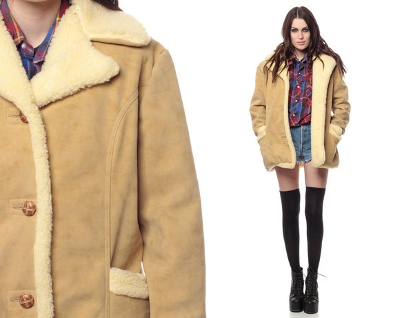 Faux Sheepskin Jacket | Outdoor Jacket