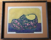 Fantastic mid century modern print by Sergio Gonzales Tornero... signed and numbered.