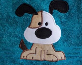 Teal Dog Towel