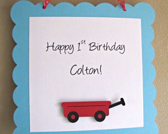 Red Wagon Party Door Sign, Little Red Wagon Welcome Sign, Red Wagon Birthday Party, Wagon Baby Shower, Wagon Sign, Wagon 1st Birthday Party