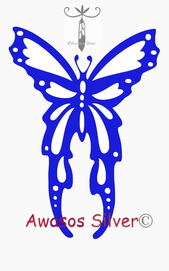 Butterfly decal