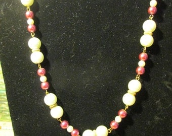Necklace - Pearlized N0035