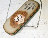 Hand Painted Eyeglass Case