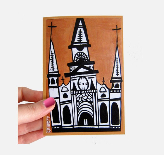 I HEART St. Louis Cathedral Greeting Card