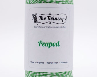 Full Spool - 240 Yards - Peapod Green Baker's Twine