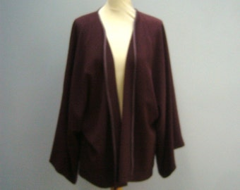 Brown handmade jacket