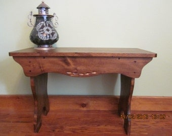 Small bench or coffee table