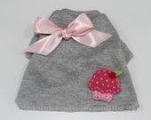 Cuter Than A Cupcake Dog TShirt Clothes Size XXXS through Medium by Doogie Couture