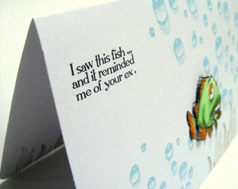 Divorce Greeting Card, Break Up Greeting Card, Divorce, Card, Divorce Humor, Ex-Husband, Ex-Wife, Divorce Sympathy, Funny Divorce Card
