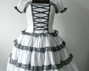 Sweet Lolita Dolly Dress White