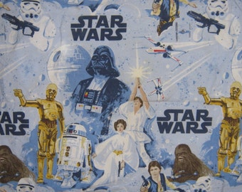Star Wars   Full fitted  bed sheet Pottery Barn Kids