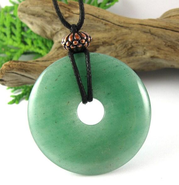 Namaste Nursing Necklace - 40mm Green Aventurine Breastfeeding Necklace