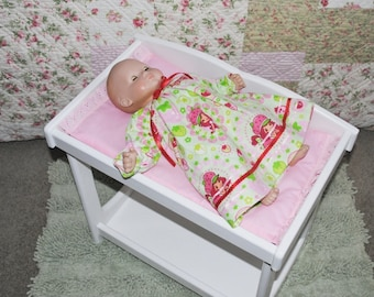 Baby Doll Changing Table - Pink Only - Ready to Ship