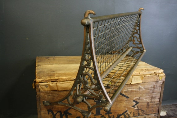 Brass Railroad Train Luggage Rack