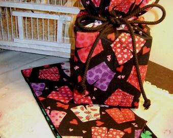 Valentine Sale boxer short designer cotton fabric in handmade Valentine tissue tendor