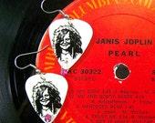 JANIS JOPLIN Guitar Pick Earrings