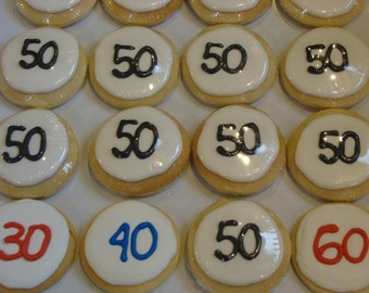 Birth Age Cookie Favors